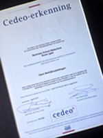 Cedeo accreditation