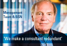 Interview Dick Gerdzen, founder of BSN, by Management Team