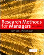 Research Methods for Managers by Professor dr. Phil Johnson, dr. John Gill and dr. Murray Clark