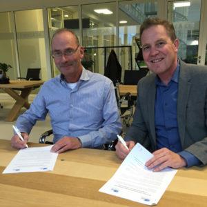 Marcel van der Ham (dean BSN) and Twan Paes MBA (ALA)