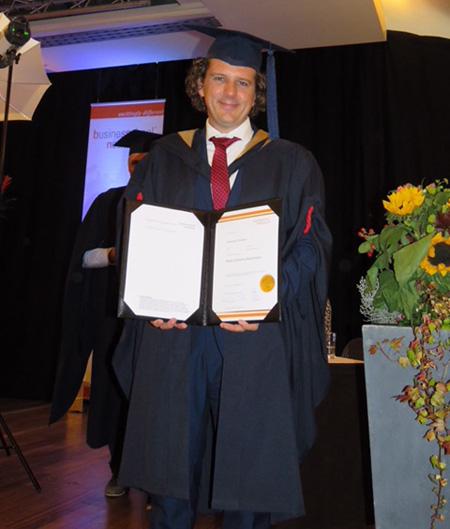 BSN Alumnus Jan-Pieter Veldman MBA