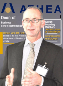 Marcel van der Ham, Dean Business School Netherlands, elected Vice President of ATHEA