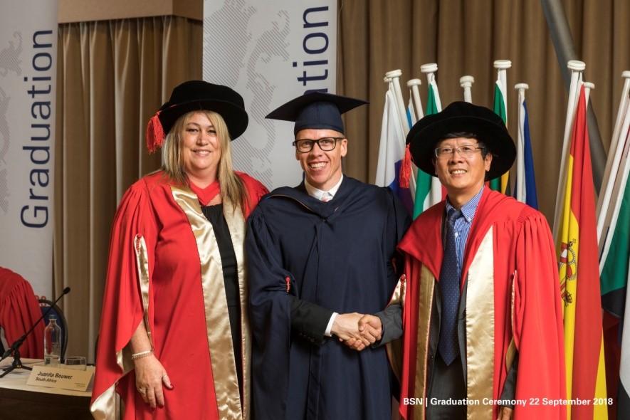 BSN Alumnus Laurie Meiring MBA