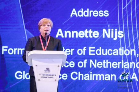 Annette Nijs, former Cabinet Minister of Education, Culture and Science of the Netherlands