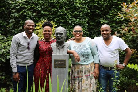 Chisonge Mwape, Fundiswa Kula, Bongiwe Msane and Lesego Lekubu