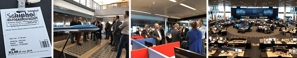 Dutch BSN Alumni visit KLM's Operations Control Center (OCC)