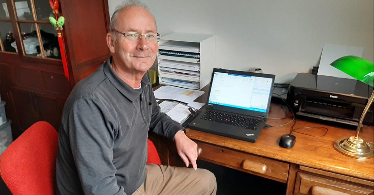 Interview Dick Gerdzen, founder of BSN, by Management Team