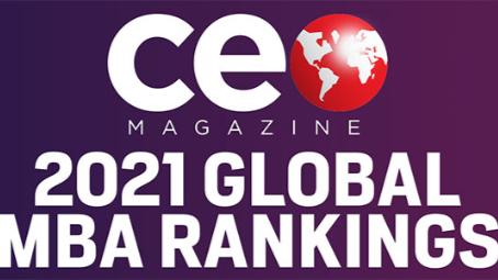 CEO Magazine 2021 MBA Ranking